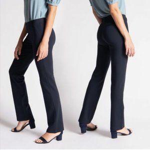 Betabrand Classic Straight Leg Yoga Dress Pants L